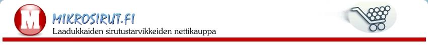 Mikrosirut.fi - sirutustarvikkeet suomesta - mikrosiru ja sirulukijat - mikrosirutarvikkeet